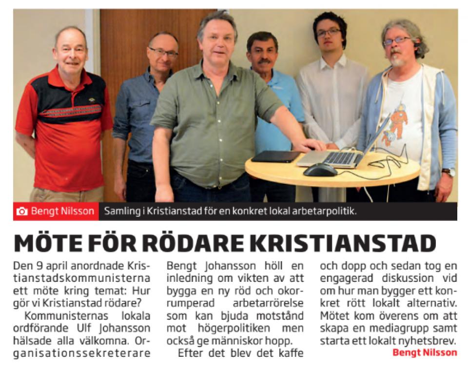 Det är lönt att resa sig från TV-soffan, säger Bengt Johansson, organisationssekreterare och tryckeriarbetare.